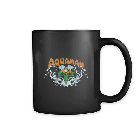 Aquaman Super Hero Dc Art 11oz Mug