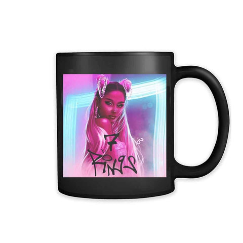 Ariana Grande 7 Rings Cover 11oz Mug