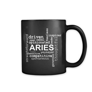 Aries Zodiac Sign 11oz Mug