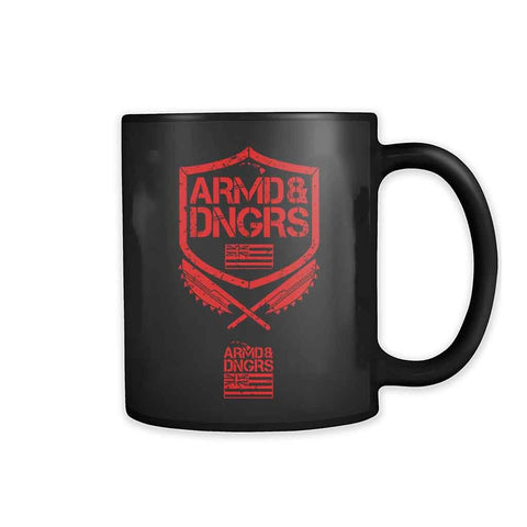 Armed And Dangerous Logo 11oz Mug