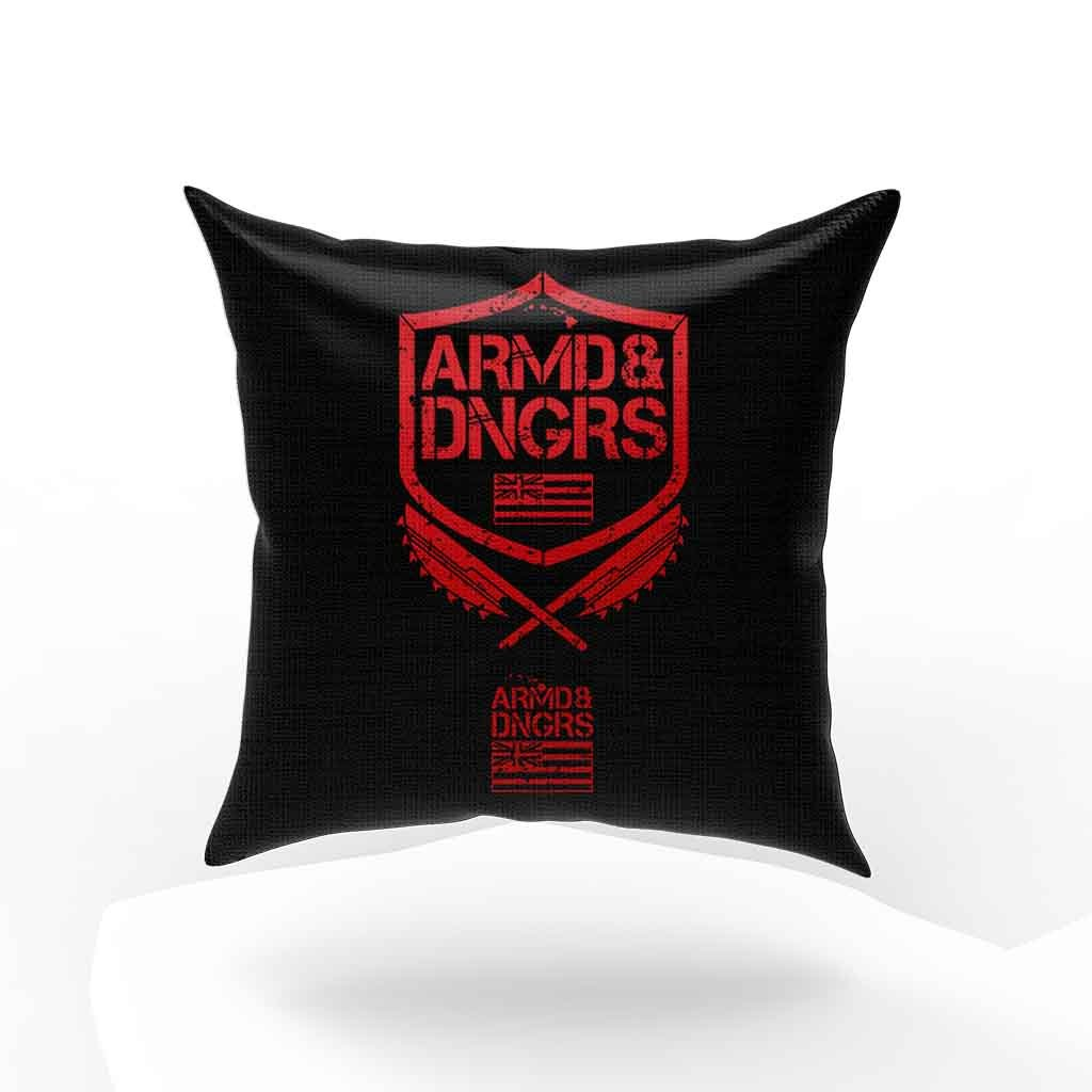 Armed And Dangerous Logo Pillow Case Cover
