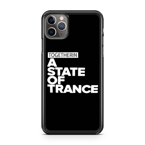 Armin Van Buuren Together In A State Of Trance Letter iPhone 11 Pro Max Case