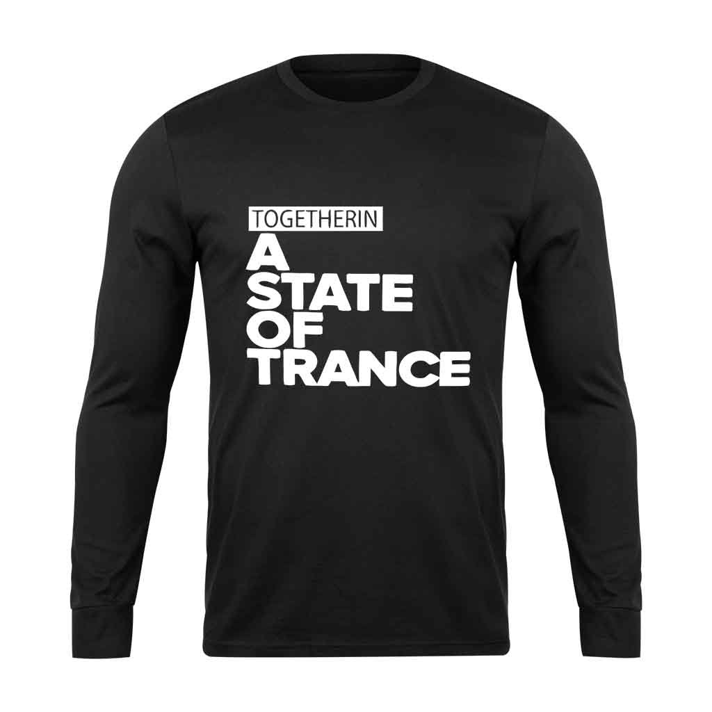 Armin Van Buuren Together In A State Of Trance Letter Long Sleeve T-Shirt