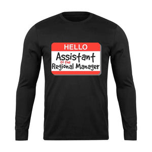 Assistant Regional Manager Long Sleeve T-Shirt