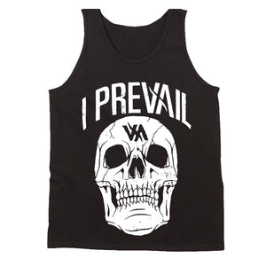 Authentic I Prevail Large Rowdy Skull Men's Tank Top