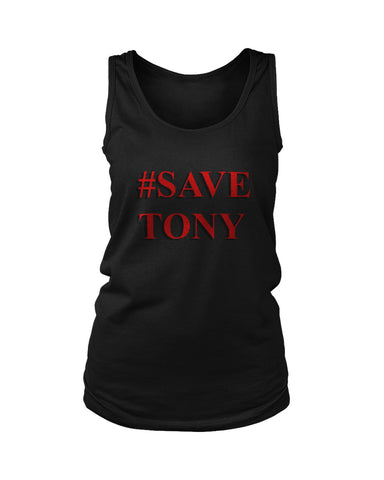 Avengers End Game Save Tony Women's Tank Top