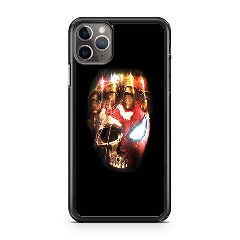 Avengers Endgame Spiderman Head Skull iPhone 11 Pro Max Case