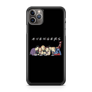 Avengers Friends Avengers End Game  Avengers Superheroes  Friends Avengers iPhone 11 Pro Max Case