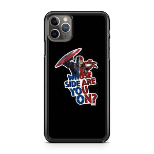 Avengers Whose Side Are You On iPhone 11 Pro Max Case