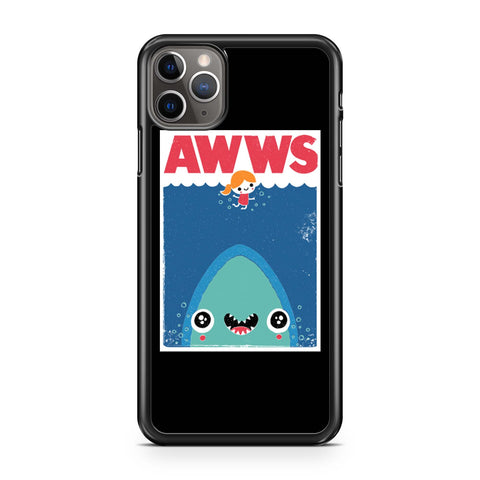 Awwws Cute Baby Shark Jaws iPhone 11 Pro Max Case