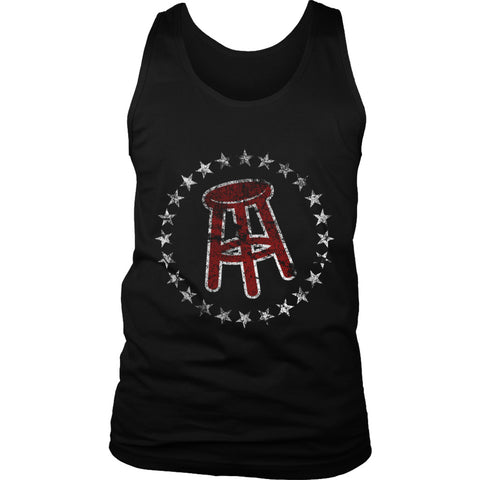 Barstool Sports Logo Grunge Men's Tank Top