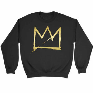 Basquiat Crown Jean Michel Basquiat Sweatshirt