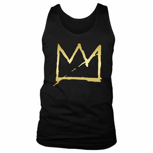 Basquiat Crown Jean Michel Basquiat Men's Tank Top