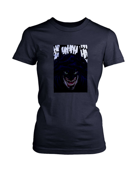 Batjoker Batman To Joker Women's T-Shirt
