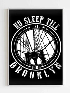 Beastie Boys No Sleep Till Til Brooklyn The 1986 Album Poster