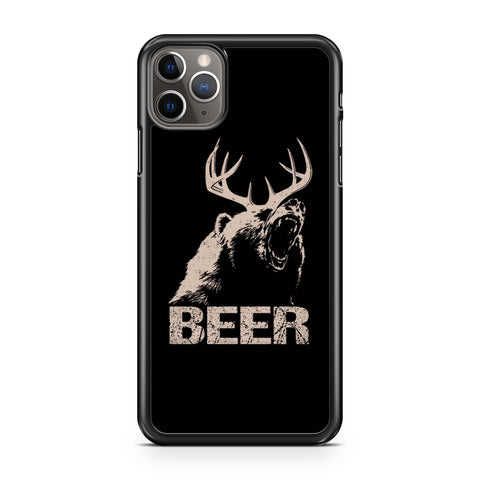 Beer Deer Bear Roar iPhone 11 Pro Max Case