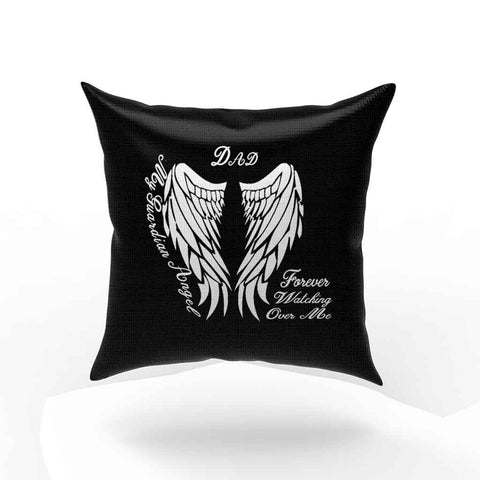 Bereavement My Guardian Angel Dad Forever Watching Over Me Pillow Case Cover
