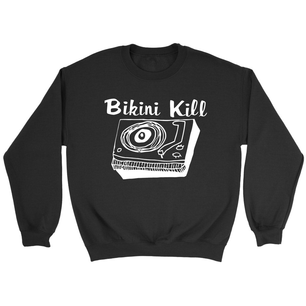Bikini Kill Logo Rock Band Sweatshirt