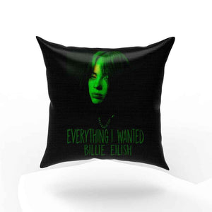 Billie Eilish Everything I Wanted Green Version Pillow Case Cover
