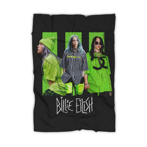 Billie Eilish Queen Blanket