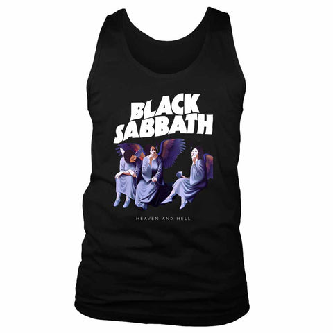Black Sabbath Heaven And Hell Men's Tank Top