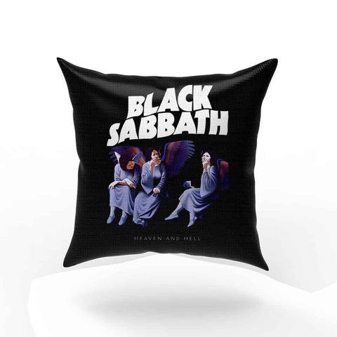 Black Sabbath Heaven And Hell Pillow Case Cover