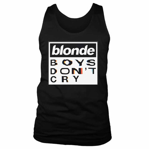 Blonde Boys Dont Cry Tour Chest Men's Tank Top