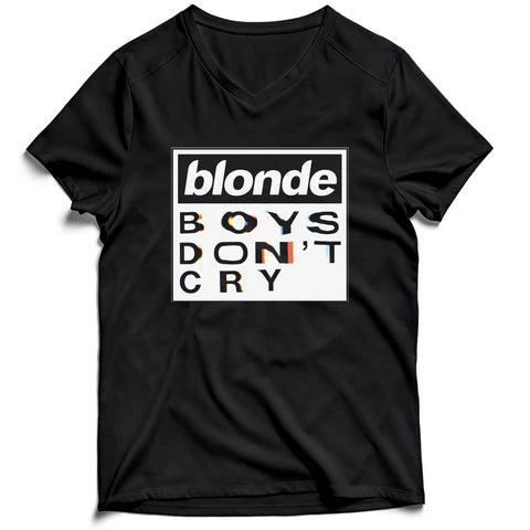 Blonde Boys Dont Cry Tour Chest Men's V-Neck Tee T-Shirt