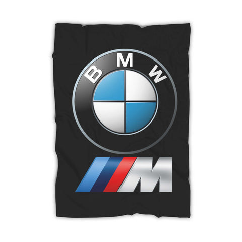 Bmw M Power Logo Blanket
