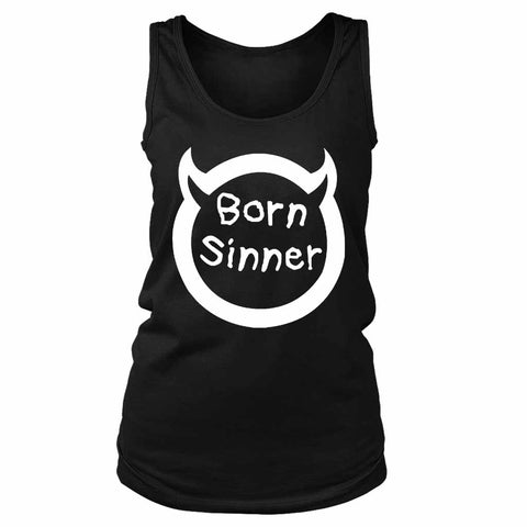 Born Sinner J Cole Inspired Women's Tank Top