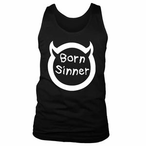 Born Sinner J Cole Inspired Men's Tank Top