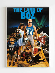 Brian Bosworth 1987 Poster