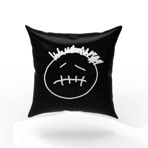 Cactus Jack Face Logo Travis Scott Jackboys Pillow Case Cover