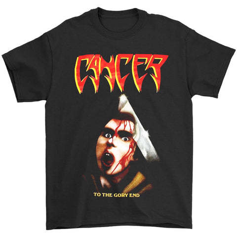 Cancer To The Gory End Death Disincarnate Obituary Deicide Men's T-Shirt