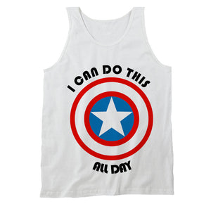 Captain America I Can Do This All Day Men's Tank Top