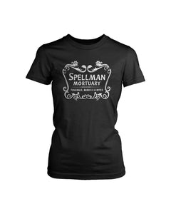 Chilling Adventures Of Sabrina Spellman Mortuary Women's T-Shirt