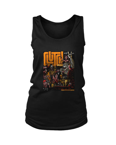Clutch Concert Tour Rock Band Logo Women's Tank Top