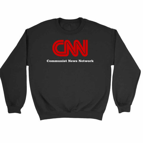Cnn Communist News Network Sweatshirt