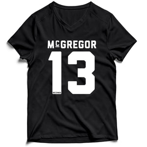 Conor Mcgregor 13 Seconds Men's V-Neck Tee T-Shirt
