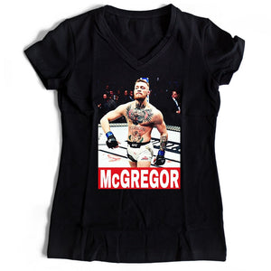 Conor Mcgregor Supreme Women's V-Neck Tee T-Shirt