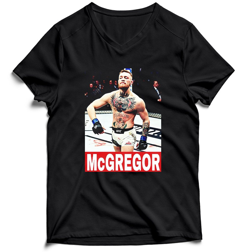 Conor Mcgregor Supreme Men's V-Neck Tee T-Shirt