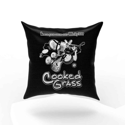 Cooked Grass Molly Folk Jamband Music Hippie Pillow Case Cover