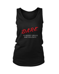 Dare Anti Drugs Women's Tank Top
