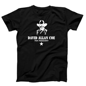 David Allan Coe For President Merle Haggard Men's T-Shirt