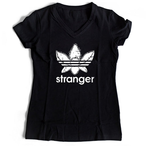 Demogorgon Stranger Things Adidas Funny Women's V-Neck Tee T-Shirt
