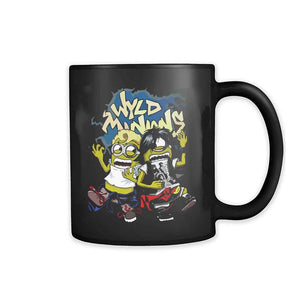 Despicable Adventure Wyld Minions Bill And Ted 11oz Mug