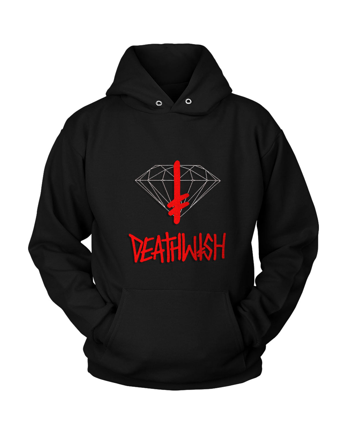 Diamond Supply Deathwish Unisex Hoodie