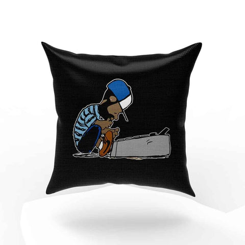 Dilla Hip Hop Donuts Schroeder Pillow Case Cover