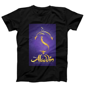 Disney Genie Aladdin The Hit Broadway Musical Poster Men's T-Shirt