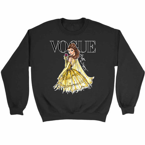 Disney Princess Belle Vogue Sweatshirt